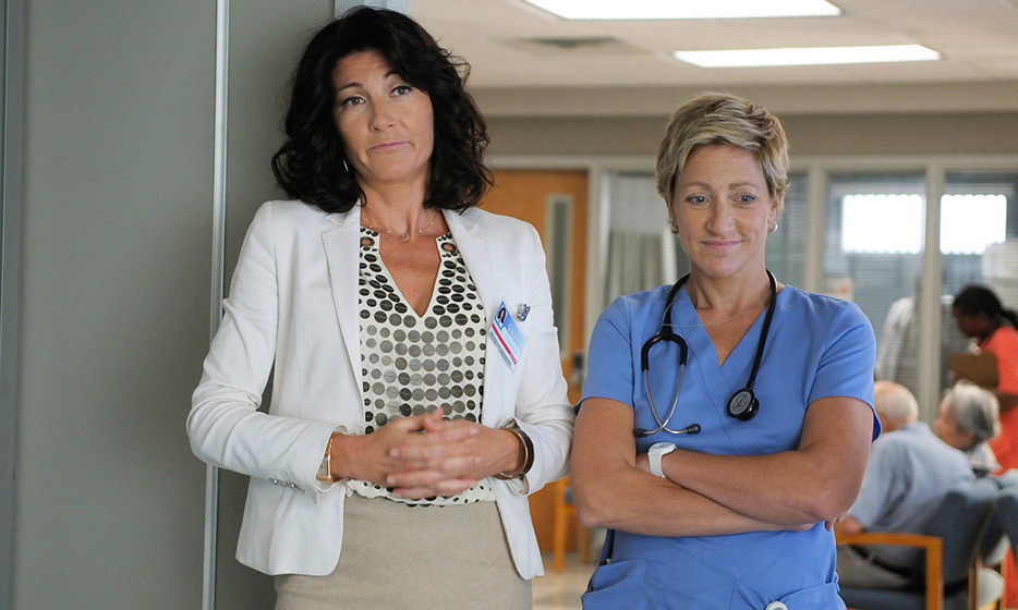 Dr. Eleanor O'Hara (Eve Best): Dark satire 'Nurse Jackie' wouldn't have been the same without Dr. O'Hara, who played the privileged foil to scrappy, drug-addled nurse Jackie Peyton. 