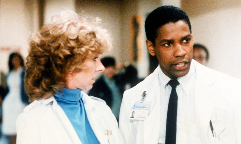 Dr. Philip Chandler (Denzel Washington): A young Denzel got his breakout role in 'St. Elsewhere' playing a good doctor trying to make a difference in run-down Boston.