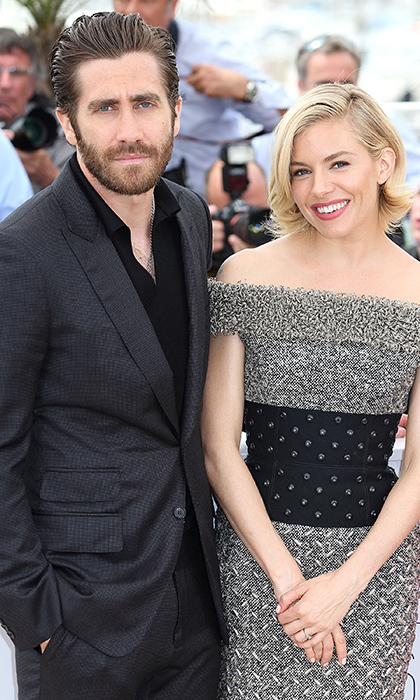 Sienna Miller and Jake Gyllenhaal. Photo: Getty