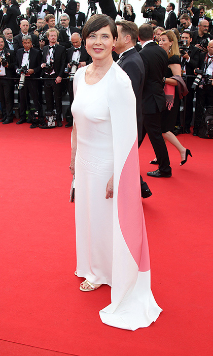 Isabella Rossellini in Stella McCartney. 
