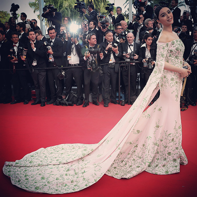 Fan Bingbing in Ralph & Russo Couture. 