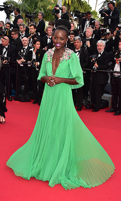 Lupita Nyong'o in Gucci.