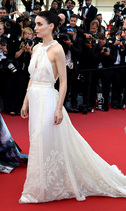 Rooney Mara in Olivier Theyskens.
