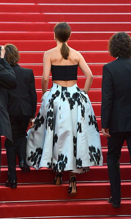 Natalie Portman in Christian Dior Couture. 