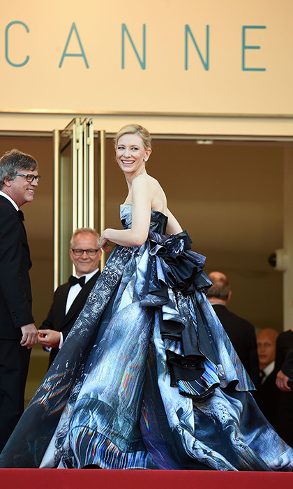 Cate Blanchett in Giles Deacon. 