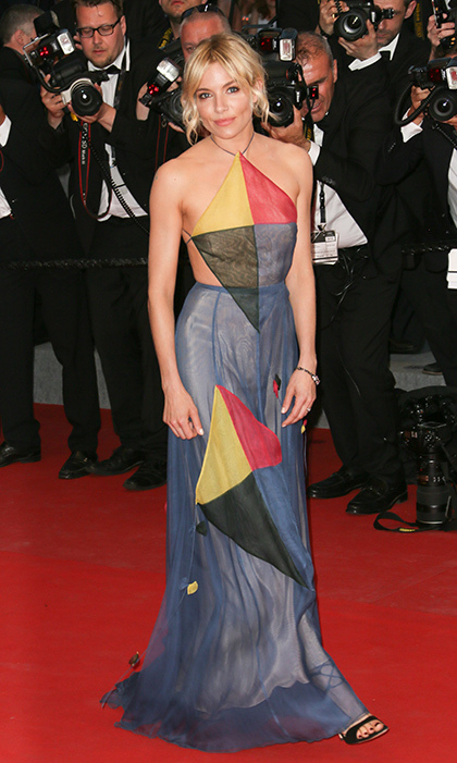 Sienna Miller in Valentino Couture.