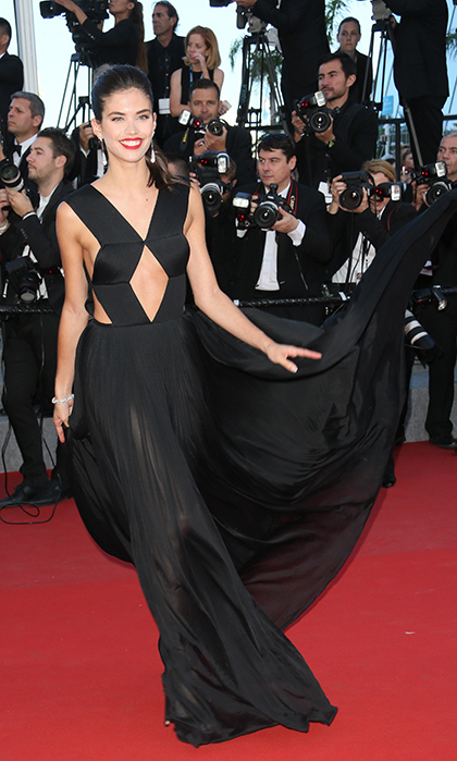 Sara Sampaio in Vionnet.