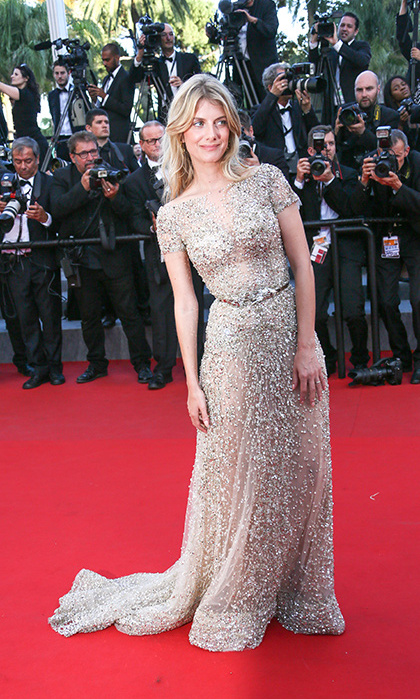 Melanie Laurent in Zuhair Murad Couture.