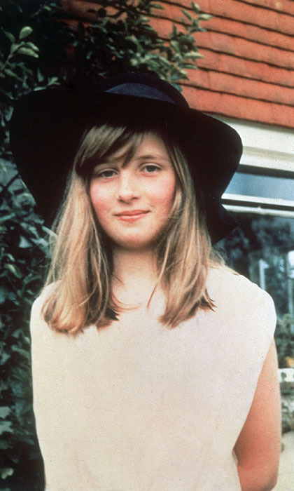 "The future <strong><a href=""/tags/0/princess-diana"">Princess of Wales</a></strong> showed off her summer style on holiday in 1971 sporting a wide-brimmed velvet hat.