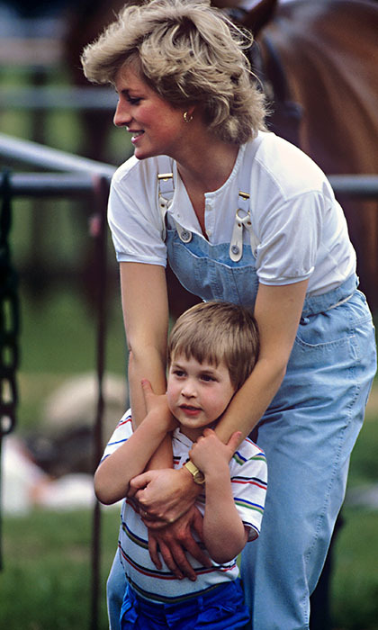"Ever the practical princess, <Strong><a href=""/tags/0/princess-diana"">Diana</a></strong> wore overalls once more to watch a polo match with son <strong><a href=""/tags/0/prince-william"">Prince William</a></strong>. 