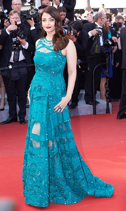 Aishwarya Rai in Elie Saab. 