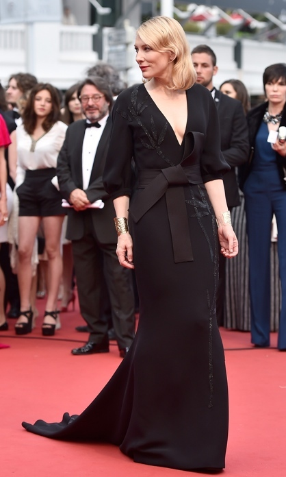 Cate Blanchett in Armani Prive.