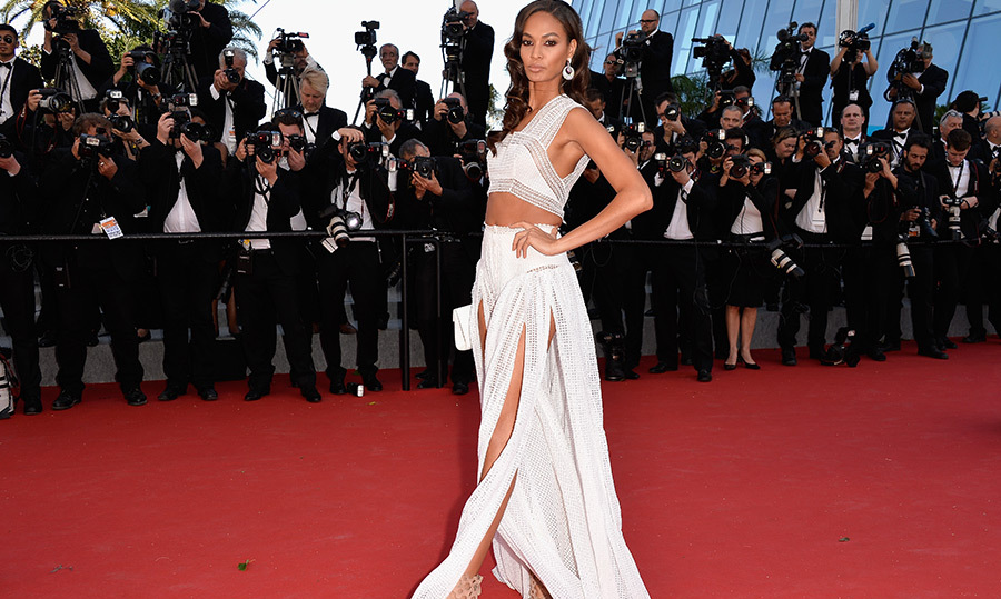 Joan Smalls in Alaia.