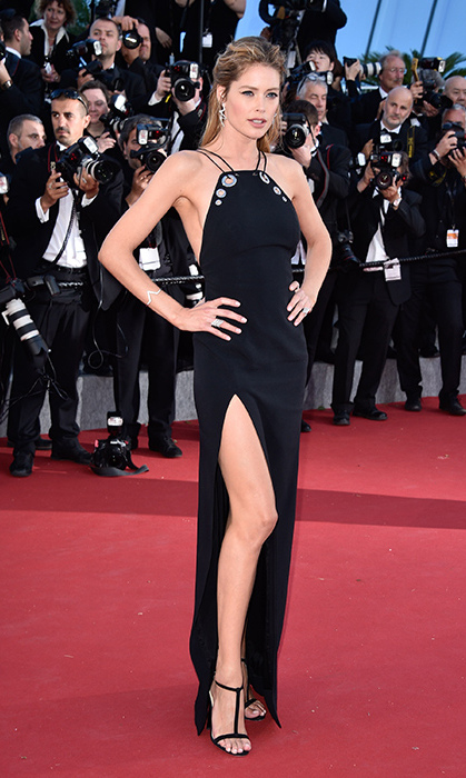 Doutzen Kroes in Mugler. 