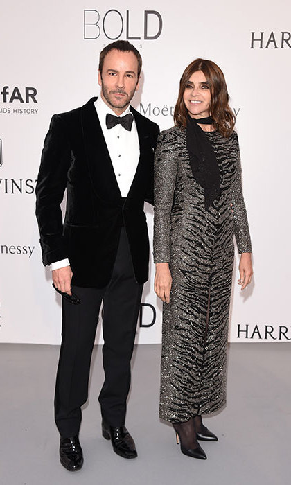 Tom Ford and Carine Roitfeld