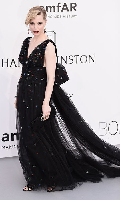 Melissa George in Schiaparelli Couture