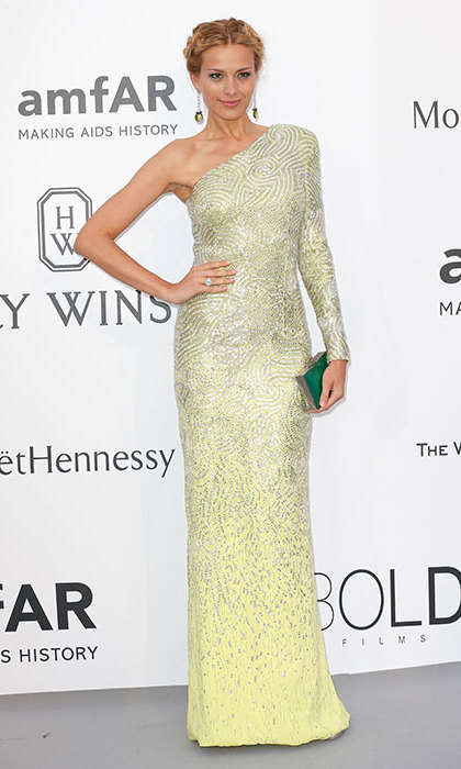 Petra Nemcova in Versace