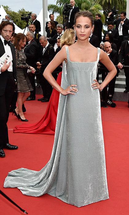 Alicia Vikander in Valentino Couture