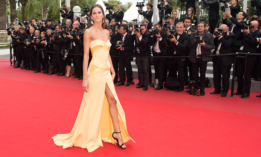 Izabel Goulart in Georges Hobeika