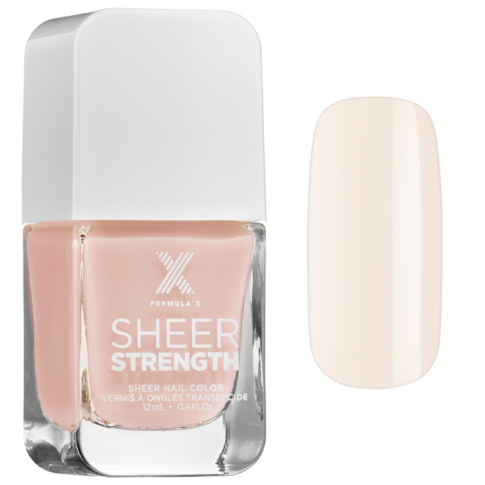 Formula X Sheer Strength Nail Color in Marvelous, $16, sephora.ca