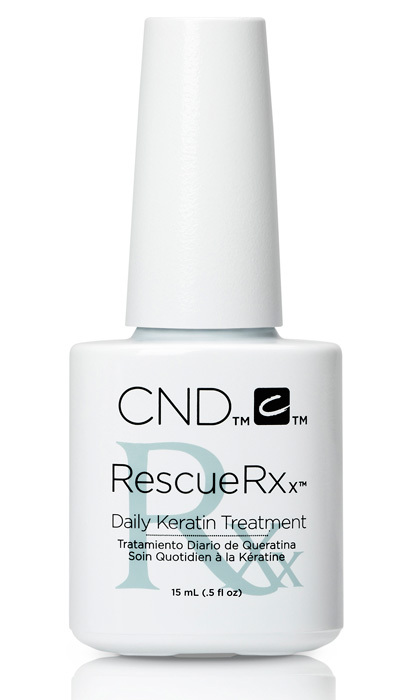 CND Rescue Rxx Daily Keratin Treatment, $25, salons across Canada, cnd.com