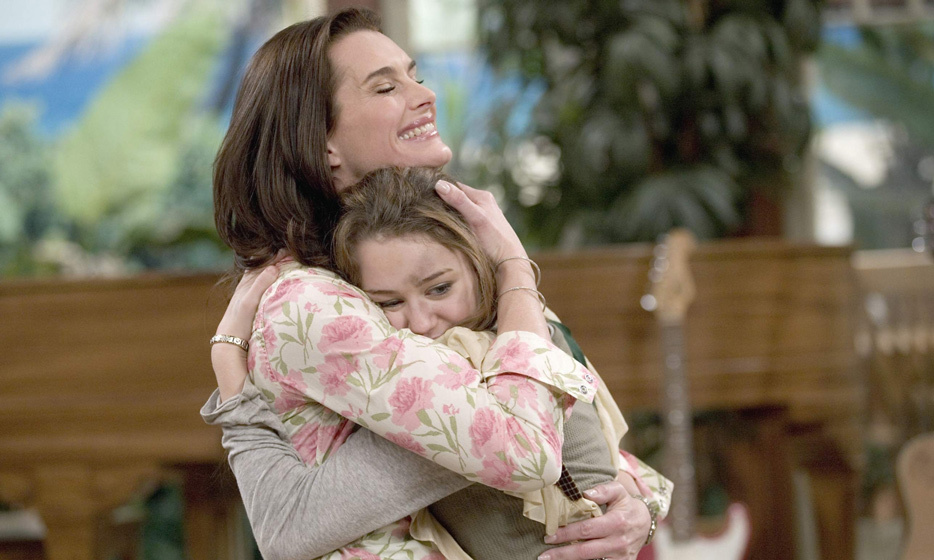 Brooke got in touch with a younger audience playing Miley Cyrus's mother, Susan, on 'Hannah Montana'. 