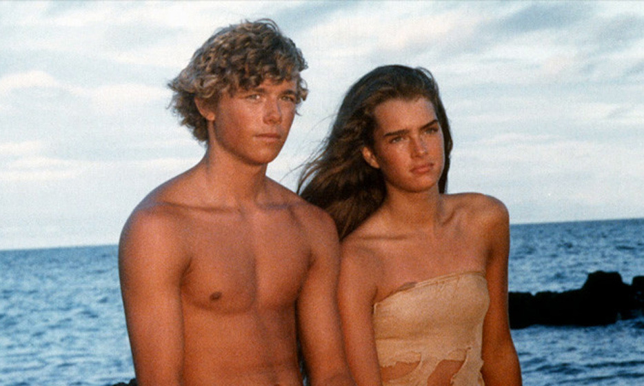 The 1980 adventure drama 'The Blue Lagoon' saw a 15-year-old Brooke and co-star Christopher Atkins playing shipwrecked teenagers fighting to survive on a tropical island. The film was a remake of the 1949 version starring Jean Simmons and Donald Houston.