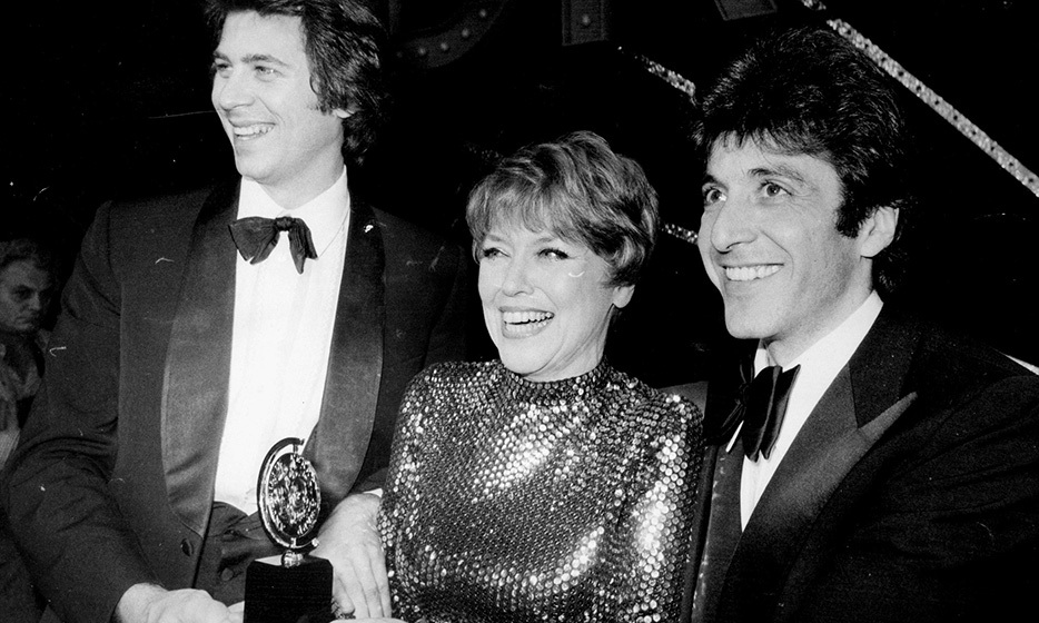 'The Godfather' star Al Pacino (right) scored his first Tony in 1969 and returned to the stage to pick up the prize in 1977 for 'The Basic Training of Pavlo Hummel'.