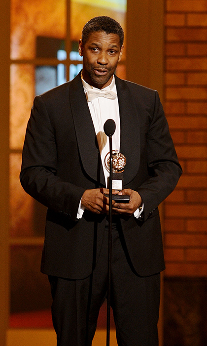 After starring in productions of 'Julius Caesar' and 'Checkmates', Denzel Washington captured a Tony in 2010 for his portrayal of Troy Maxson in the drama 'Fences'. Photo: © Getty Images