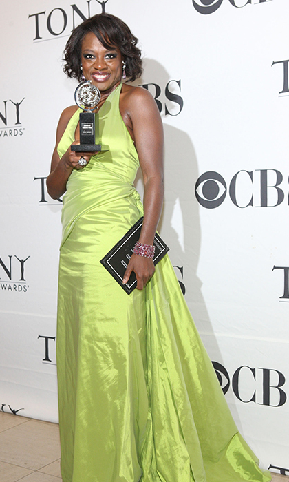 Before Oscar's academy recognized her work in 'Doubt' and 'The Help', Viola Davis received three Tony award nominations, taking home two for 'King Hedley II' and 'Fences'. 