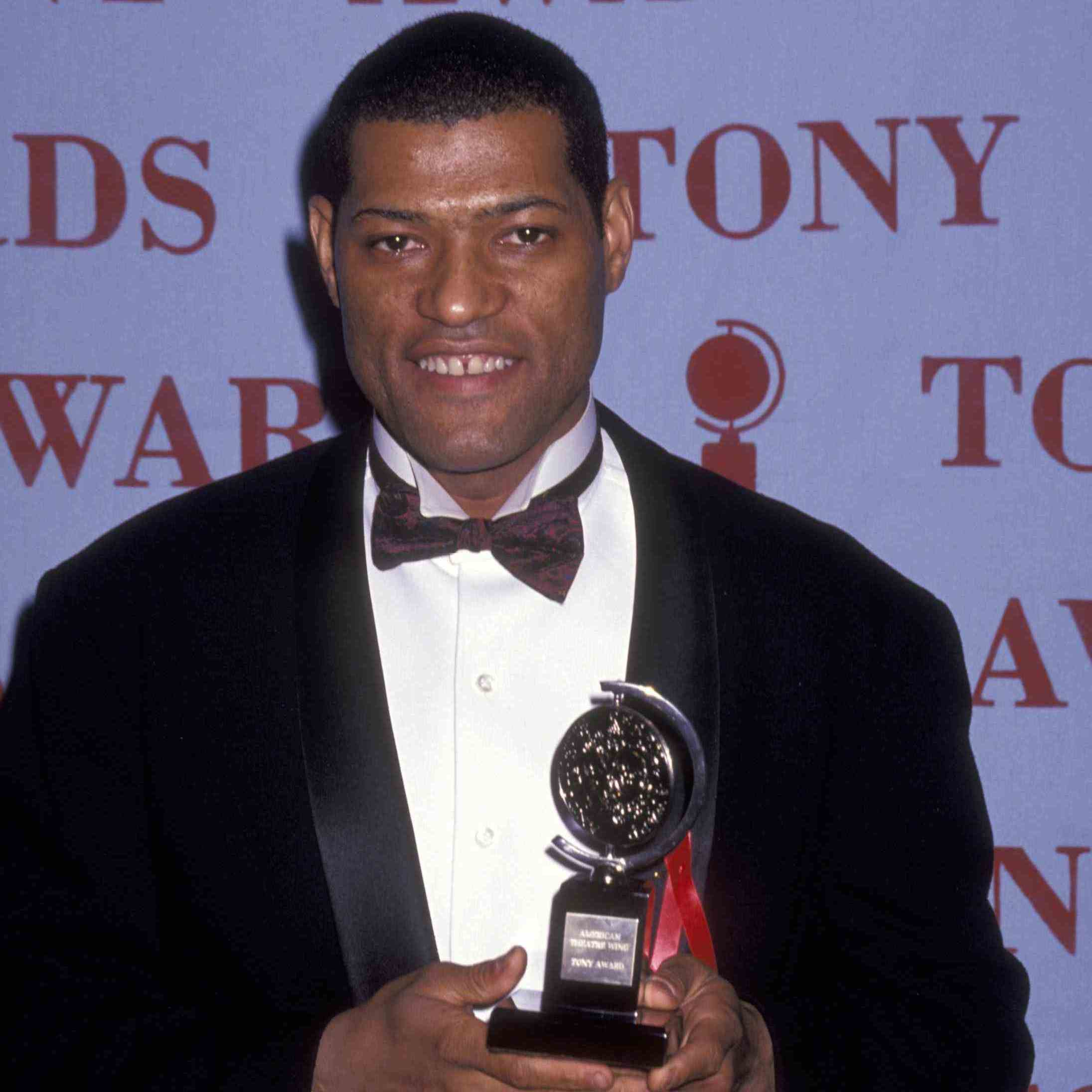 Laurence Fishburne won a Tony in 1992 for 'Two Trains Running'.  