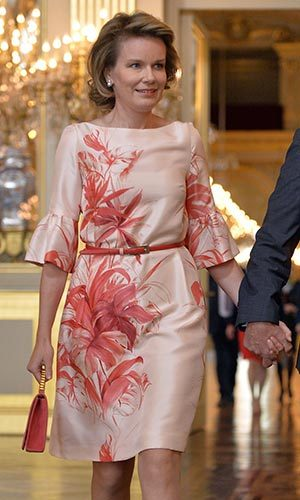 Queen Mathilde of the Belgians