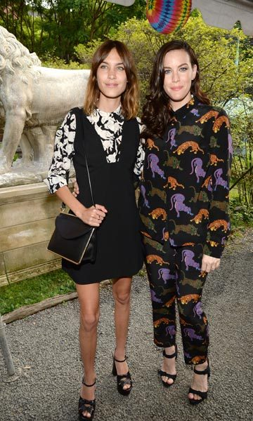 Alexa Chung and Liv Tyler. 