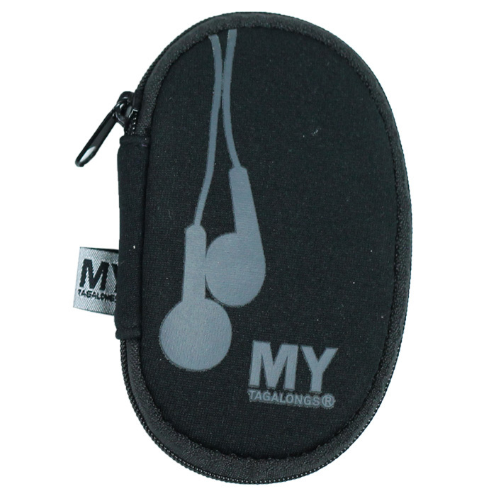 Your father will finally be able to say goodbye to tangled ear buds with this handy case.
