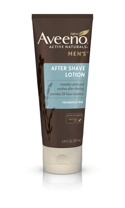 Oats are sure to soothe his freshly shaven skin.