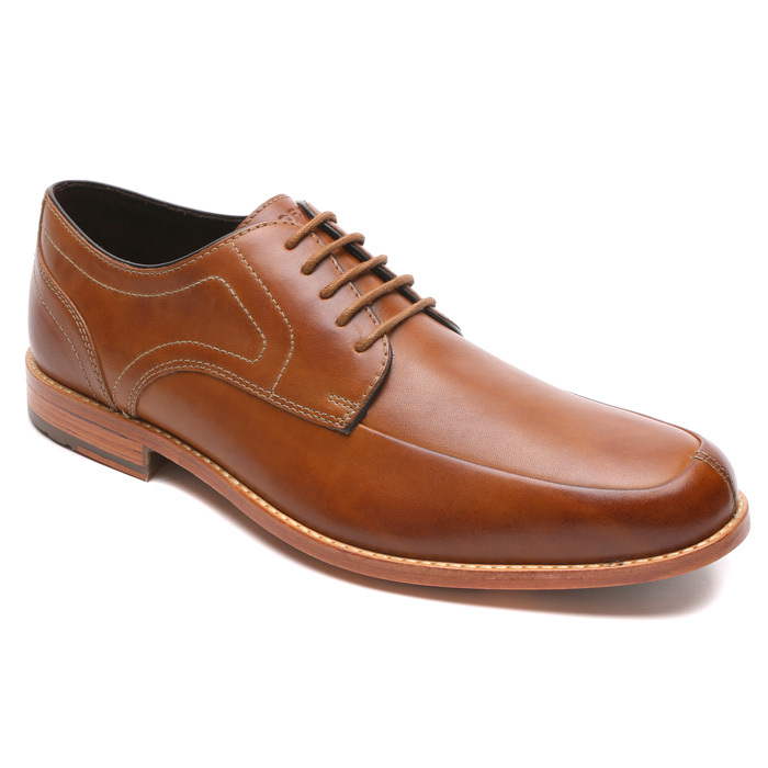 This stylish oxford works with a suit or jeans and a T-shirt. 
