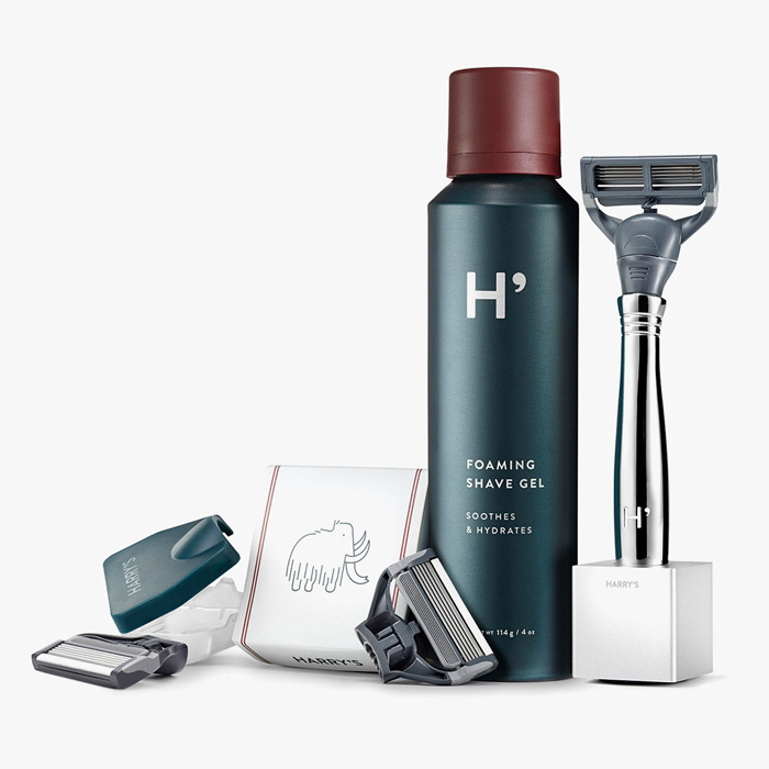 A retro-inspired kit for the lover of barber shops. 