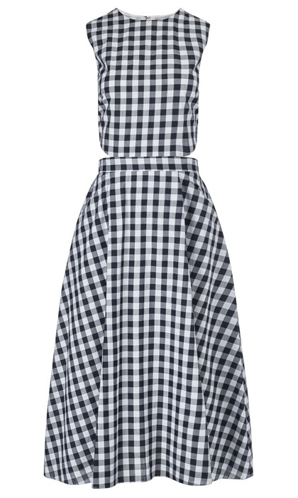 Tanya Taylor Monica gingham dress, $646, nordstrom.com