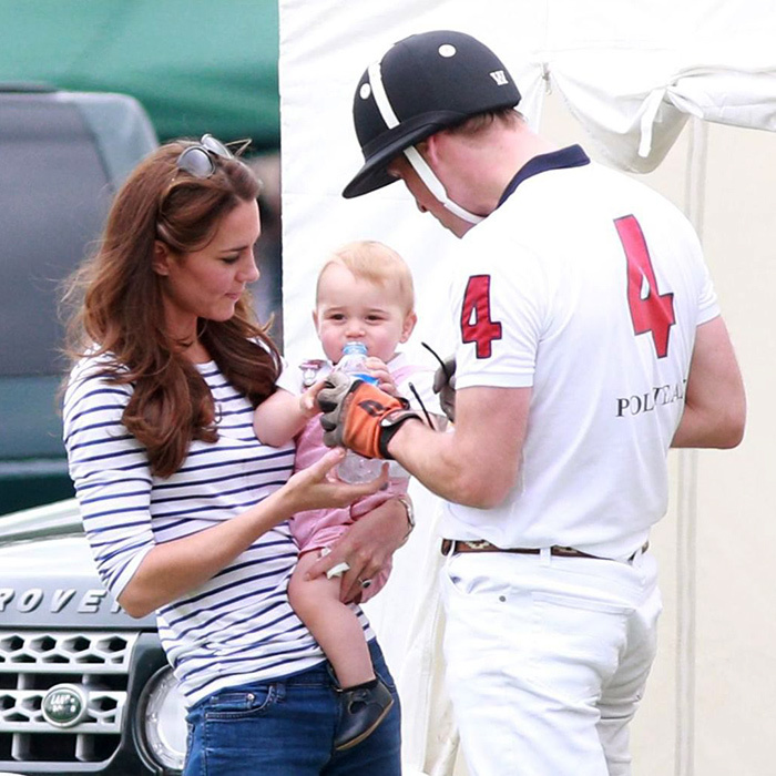 In 2013, Prince William marked his first Father's Day by competing in a charity polo match and spending time with his number-one fans.