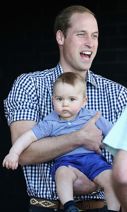 Prince William was thrilled to be able to experience a tour Down Under with his nine-month-old son, who was the same age as William was when he travelled through New Zealand and Australia with Prince Charles and Princess Diana in 1983.