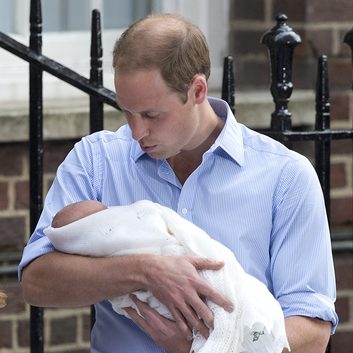 After nine long months of anticipation and years of wanting children, Prince William relishes in his newfound fatherhood.