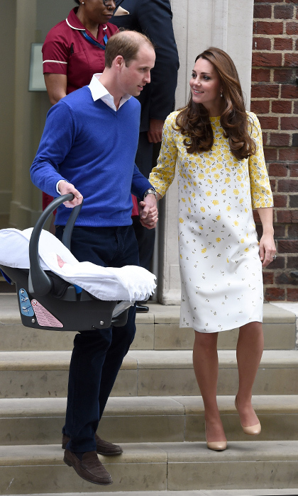 Prince William is eager to get his little princess home following her birth on May 2, 2015.