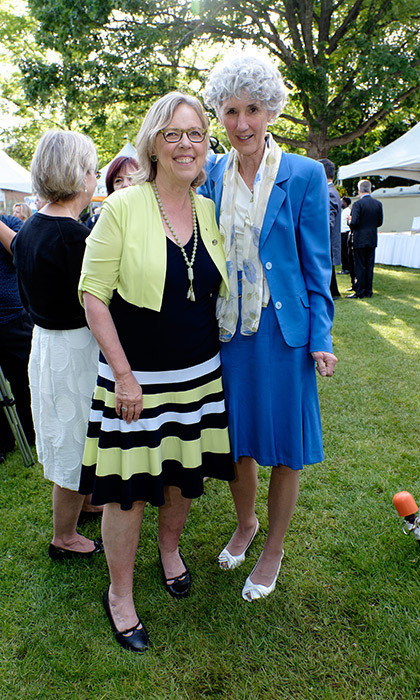 Elizabeth May and Susan Ann.
