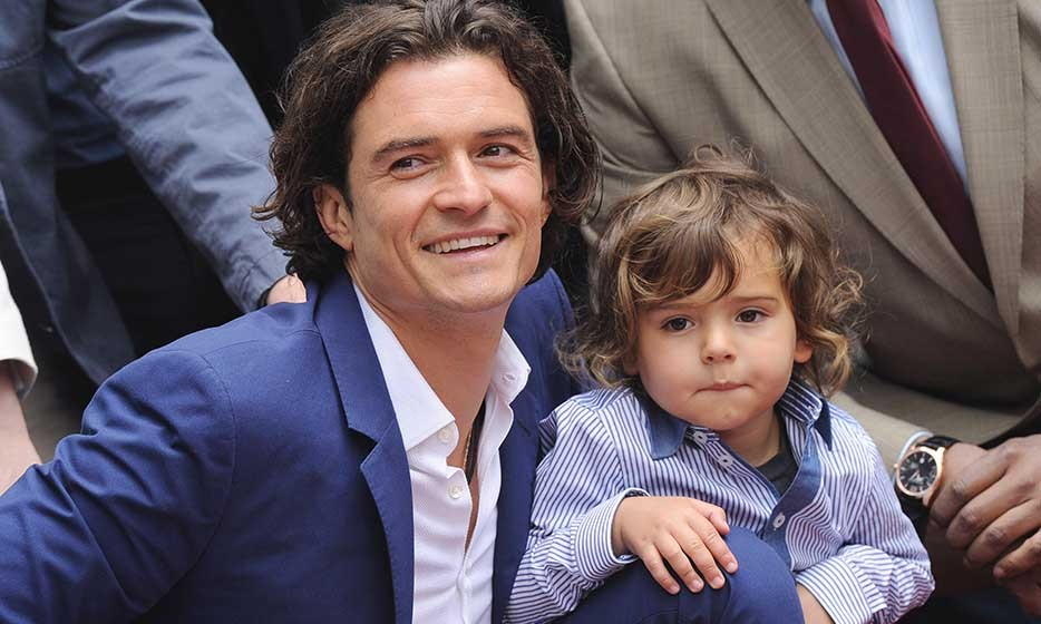 Orlando Bloom's mini-me son, Flynn (with ex-wife Miranda Kerr), has inherited his father's gorgeous brown eyes. The twosome is often seen having 'daddy and me' time strolling the streets of New York.