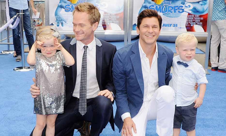 """The older they get, the more I love being a dad,"" said Neil Patrick Harris to 'USA Weekend.' The funnyman and husband David Burtka, who famously go all-out with their family Halloween costumes each year, are parents to twins Harper and Gideon.