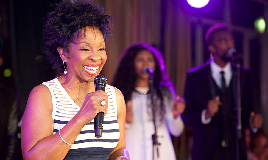 "Gladys Knight performed her hit song ""Midnight Train to Georgia.""