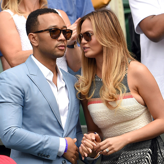John Legend and his wife Chrissy Teigen.