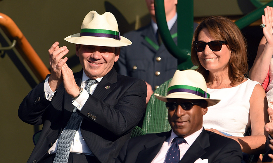 Michael and Carole Middleton are regulars at Wimbledon.