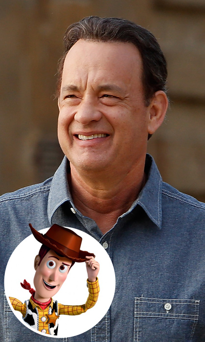 Tom Hanks doesn't horse around when it comes to voicing his beloved character Woody in <em>Toy Story</em>. The <em>Forrest Gump</em> star will dust off his sheriff badge for the fourth time when the Pixar series debuts its next adventure in 2019. 
