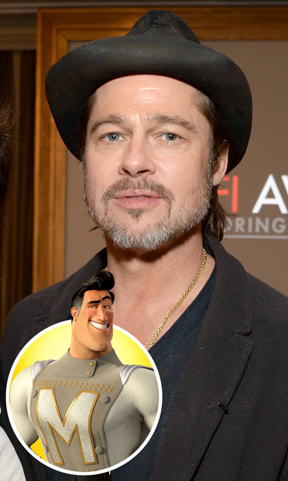 As one of the 'megaminds' behind 2013's Best Motion Picture, <em>12 Years a Slave</em>, Brad Pitt has a shiny Academy Award to call his own. The win came three years after he voiced Metro Man in <em>MegaMind</em> - a film he co-starred in with <em>Moneyball</em> castmate (and Oscar nominee) Jonah Hill.